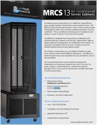 MRCS13 Modular Rack Cooling System